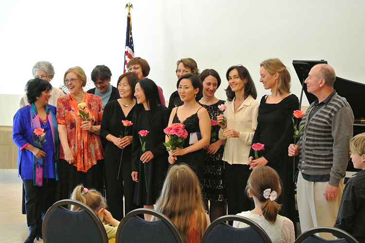 Group of MTAC Teachers with Flowers